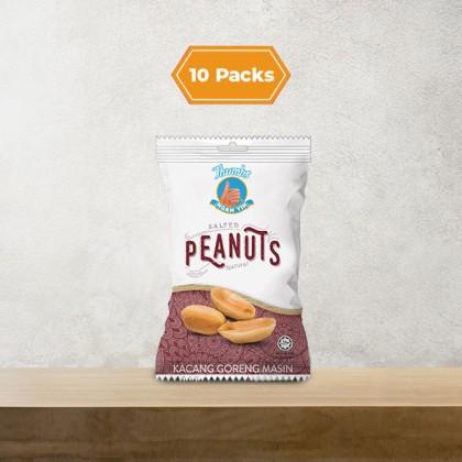 10 x 40g THUMBS Salted Peanut