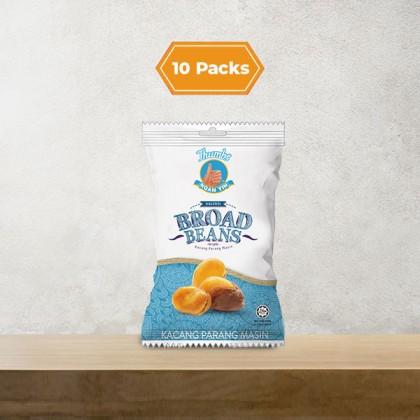10 x 40g THUMBS Salted Broadbean Packs