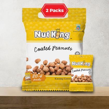 24 x 12g (2 Packs) Nut King Coated Peanut