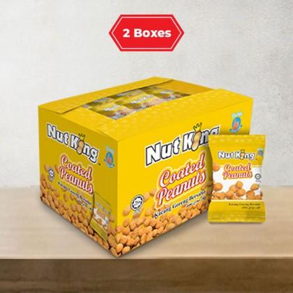 36 x 12g (2 Boxes) Nut King Coated Peanut