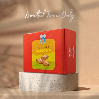 800g THUMBS Baked Almond - FREE Shipping + ZipLock Bag