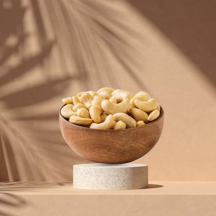 800g THUMBS Baked Almond + 800g Jumbo Cashew - FREE Shipping + ZipLock Bag