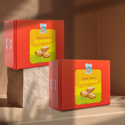 1.6KG THUMBS Baked Almond - FREE Shipping + ZipLock Bag
