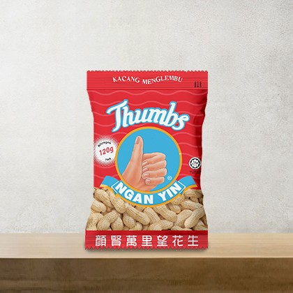 120g THUMBS Roasted Groundnut