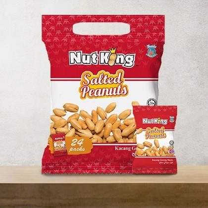12g (24 packs) Nut King Salted Peanut
