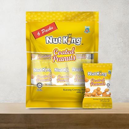 12g (6 packs) Nut King Coated Peanut